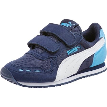 Cabana Racer Mesh AC Little Kids' Shoes, P.coat-P.Wht-Little Boy Blue, small