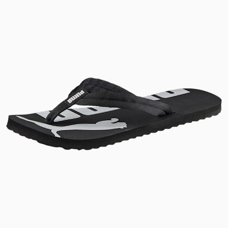 Sandalias Epic Flip v2, negro-blanco, pequeño