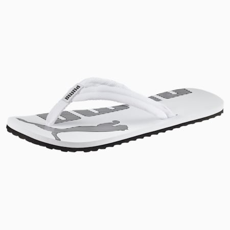 Epic Flip v2 Sandals, white-black, small