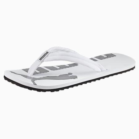 Epic Flip v2 sandalen, white-black, small