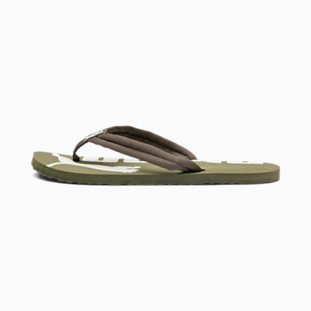 Epic Flip v2 Sandals, Forest Night-Puma White, small