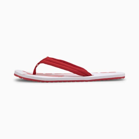 Epic Flip v2 Sandals, High Risk Red-Puma White, small