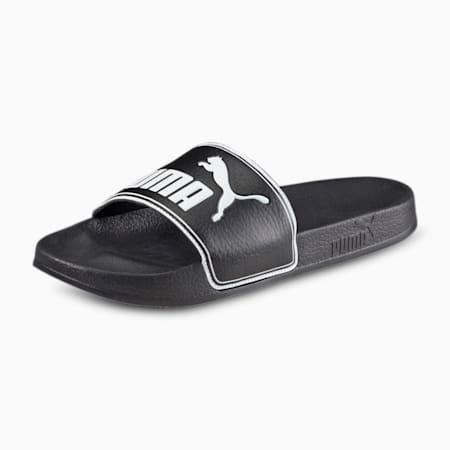 Leadcat Unisex Slides, black-white, small-IND