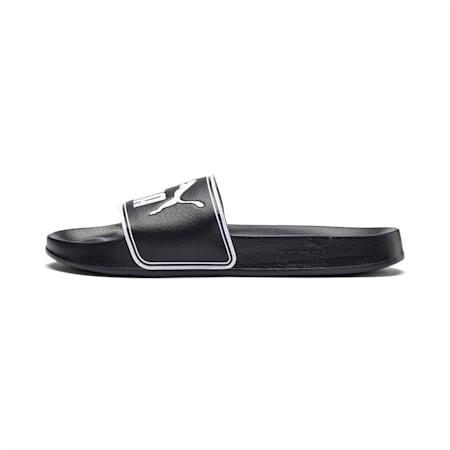 Sandalias Slide Leadcat, negro-blanco, pequeño