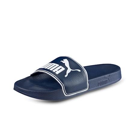 Leadcat Unisex Slides, peacoat-white, small-IND