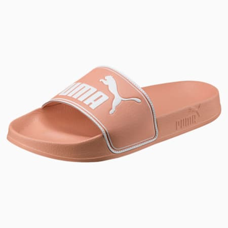 Leadcat Slides, Muted Clay-Puma White, small
