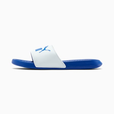 Popcat Slides, Puma White-Surf The Web, small