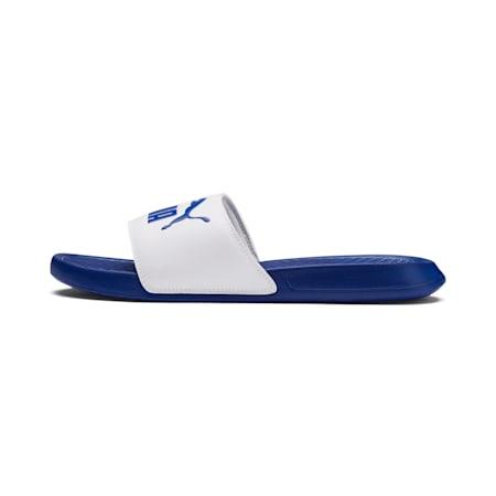 Popcat Slide Sandals, Puma White-Surf The Web, small-SEA