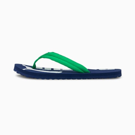 Epic Flip v2 Kids' Sandals, Elektro Blue-Island Green-PW, small
