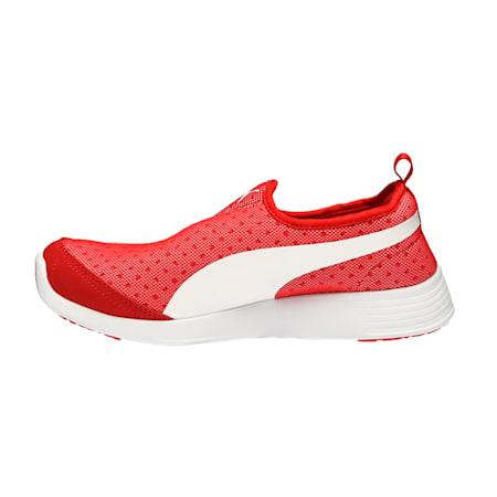 ST Evo Slip-on Walking Shoes, Barbados Cherry-Puma White, small-IND