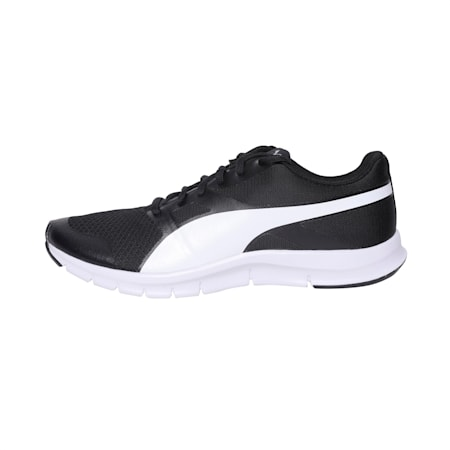 PUMA Flexracer Shoes, black-white, small-IND