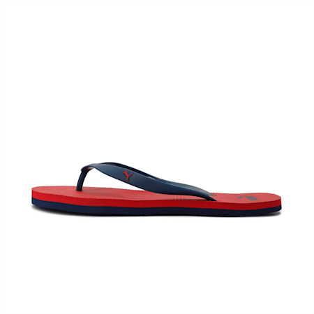 Odius DP Sandals, Blue Indigo-High Risk Red, small-IND