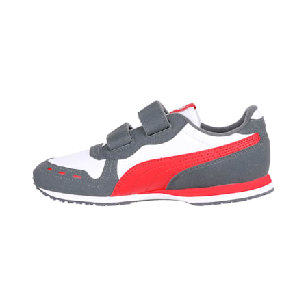 Cabana Racer IMEVA Kids' Shoes, P.White-Iron Gate-Ribbon Red, small-IND