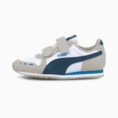 Cabana Racer SL AC Little Kids' Shoes, Gray Violet-Dresden Blue, small
