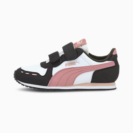 Cabana Racer SL AC Little Kids' Shoes, Puma White-Foxglove, small