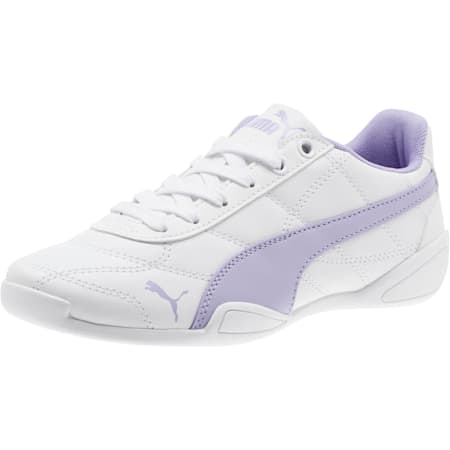 Tune Cat 3 Shoes JR, Puma White-Sweet Lavender, small