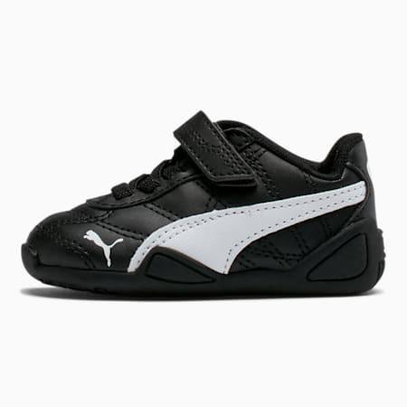 Tune Cat 3 AC Toddler Shoes, Puma Black-Puma White, small