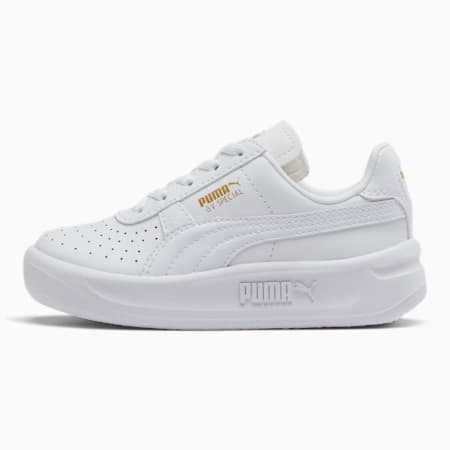 GV Special Little Kids' Shoes, Puma White-Puma Team Gold, small