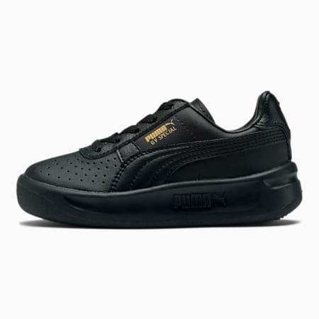 Zapatos GV Special para niños, Puma Black-Puma Team Gold, pequeño