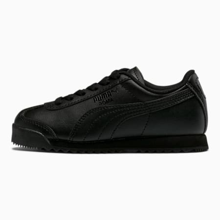 Zapatos Roma Basic para niños, Puma Black-Puma Black, pequeño