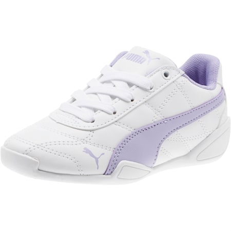 Tune Cat 3 Little Kids' Shoes, Puma White-Sweet Lavender, small