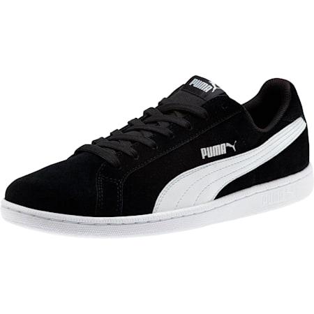 Smash Suede Trainers, Puma Black-Puma White, small-GBR