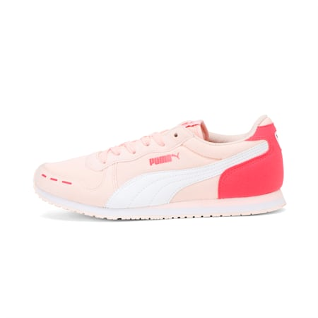 Cabana Racer Mesh V Jr DP, Pearl-White-Paradise Pink, small-IND