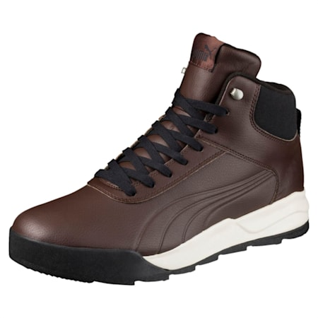 Desierto Trainer L High Tops, Brown-Chocolate Brown, small-IND