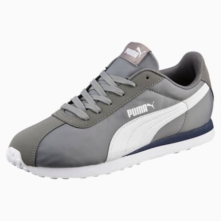 Turin NL Shoes, Steel Gray-Puma White, small-IND