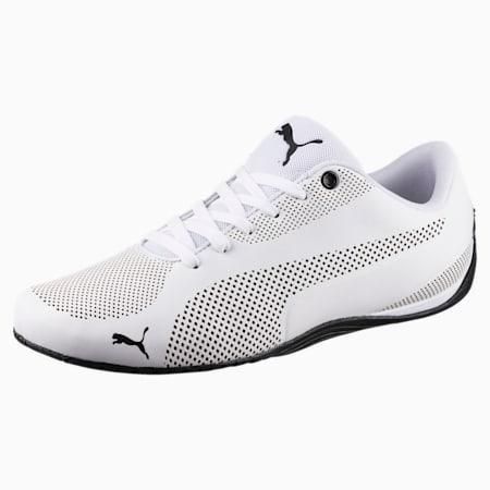 Drift Cat 5 Ultra Men's Shoes, Puma White-Puma Black, small