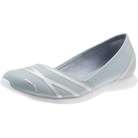 PUMA Vega Ballet Women's SL Shoes, Quarry-Puma Silver, small