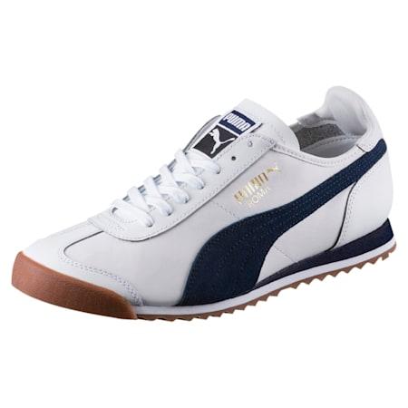 Roma OG '80s Shoes, Puma White-Peacoat, small-IND