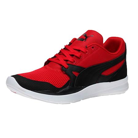 Duplex Evo Shoes, Barbados Cherry-Black-White, small-IND