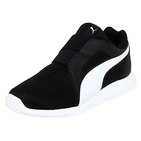 Street EVO Alternate Closure Preschool Training Shoes, Puma Black-Puma White, small-IND