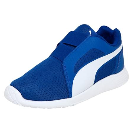 Street EVO Alternate Closure Preschool Training Shoes, Turkish Sea-Puma White, small-IND