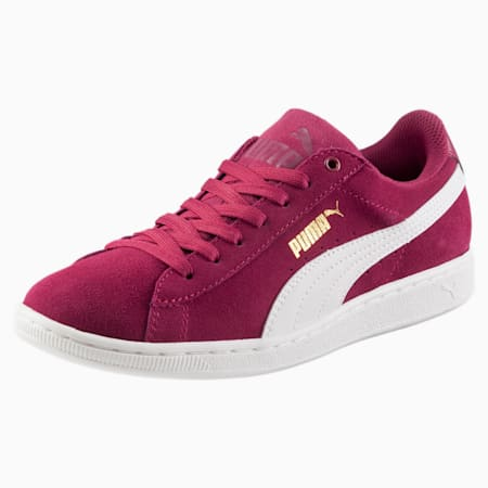 Vikky Women's Sneakers, Red Plum-Puma White, small