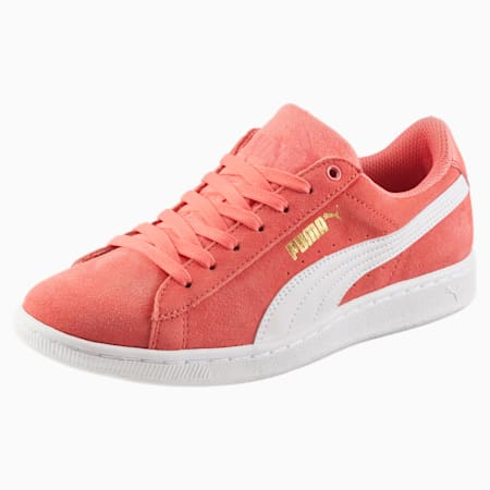 Vikky Women's Sneakers, Porcelain Rose-Puma White, small