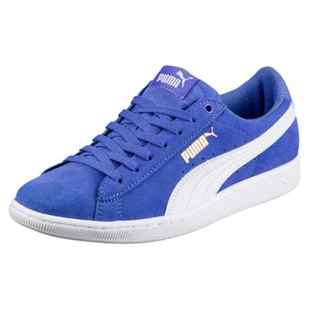 Vikky Softfoam Women's Shoes, Baja Blue-Puma White, small-IND