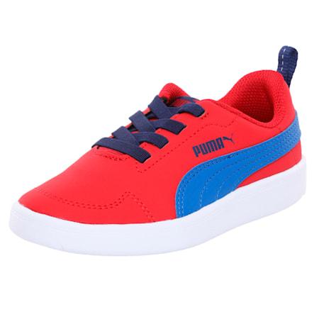 Courtflex Kids' Shoes, Toreador-Lapis Blue, small-IND