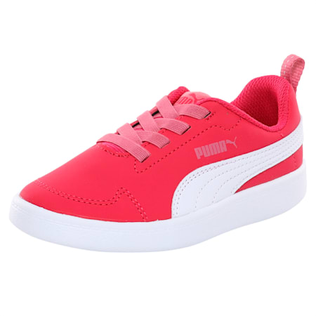 Courtflex Kids' Shoes, Love Potion-Puma White, small-IND