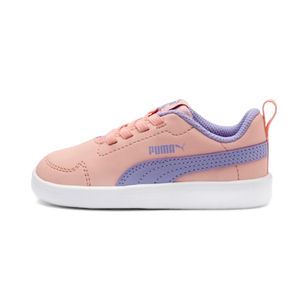 Courtflex Kids' Shoes, Lavender-Peach Bud-White, small-IND