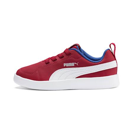Courtflex Kids' Shoes, Rhubarb-Puma White, small-IND