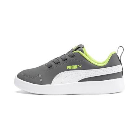 Courtflex Kids' Shoes, CASTLEROCK-Puma White, small-IND