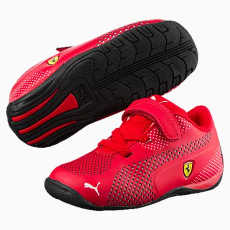 Scuderia Ferrari Drift Cat 5 Ultra Little Kids' Shoes, Rosso Corsa-Puma White, small