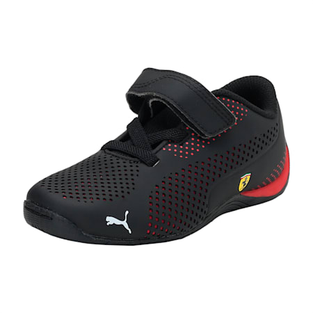 SF Drift Cat 5 Ultra PS Unisex Shoes, Puma Black-Rosso Corsa, small-IND