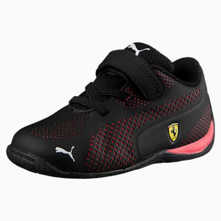 Scuderia Ferrari Drift Cat 5 Ultra Toddler Shoes, Puma Black-Rosso Corsa, small