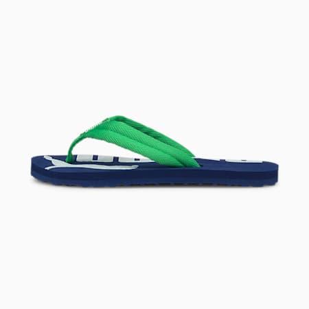 Epic Flip v2 Preschool Kids' Trainers, Elektro Blue-Island Green-Puma White, small-GBR