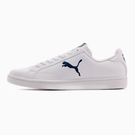 プーマ スマッシュ キャット L スニーカー, Puma White-Blue Depths, small-JPN
