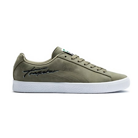 PUMA x TRAPSTAR Clyde Bold, Burnt Olive, small-IND