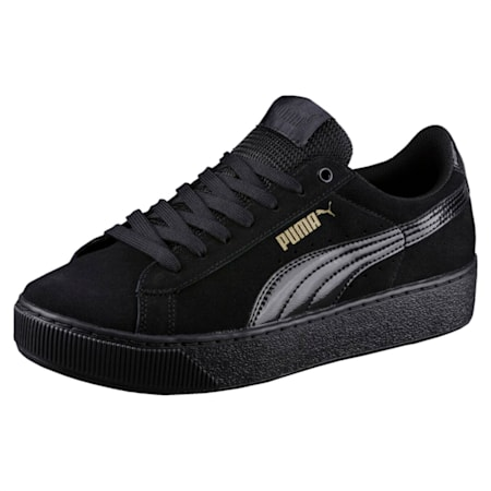 Vikky Platform Women's Shoes, Puma Black-Puma Black, small-IND